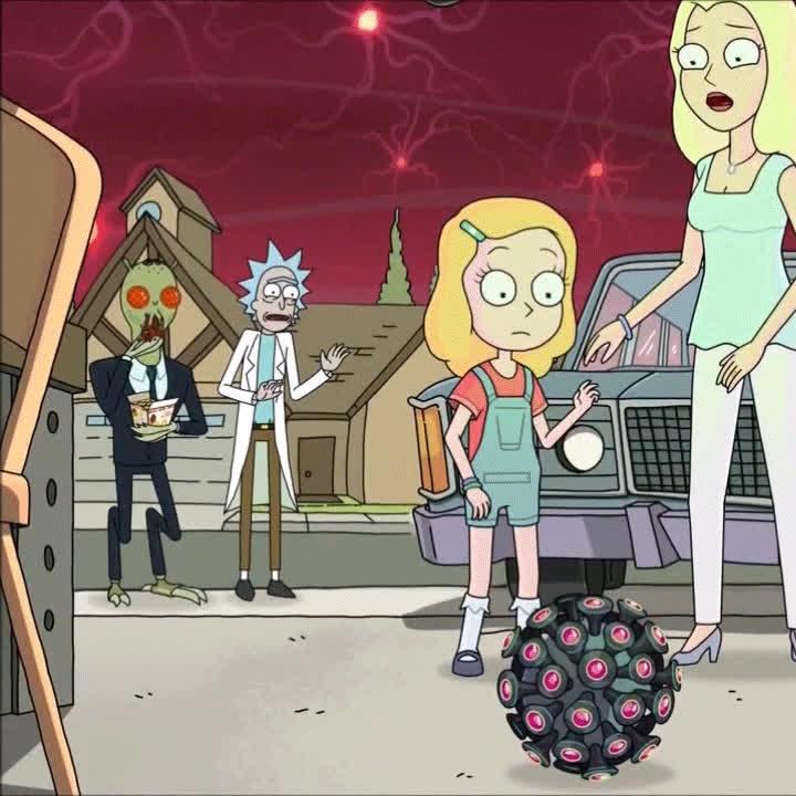 rickandmorty, rickandmortygifs, Rick has feelings GIFs