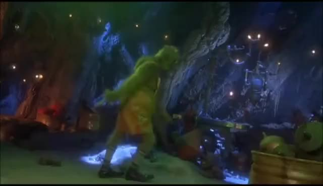 How the Grinch Stole Christmas: That's it I'm not Going christmas Best, Jim, Carrey, Funny, Comedy, Comedian, Scene, Movie, Grinch, Mask, Dumb, Dumber, Popper's, Penguins, Batman, Forever, Ever, Humor GIF