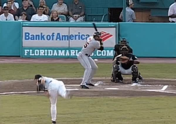 Watch and share Barry Bonds Stride To Contact GIFs on Gfycat