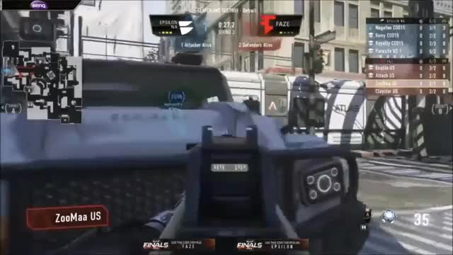 Watch and share Nagafen 1v2 Dolphin Dive Clutch GIFs by tomar on Gfycat