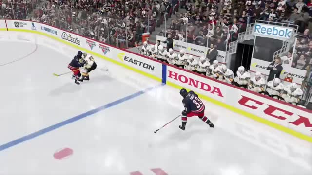 Watch NHL 18 Clip #592 GIF by @penchers on Gfycat. Discover more funny, slow motion, xbox one GIFs on Gfycat