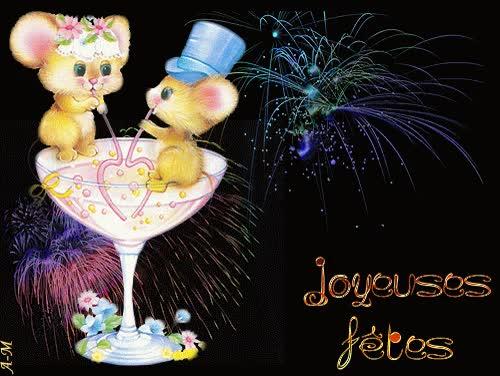 Watch and share Feu D'artifice - Joyeuses Fêtes GIFs on Gfycat