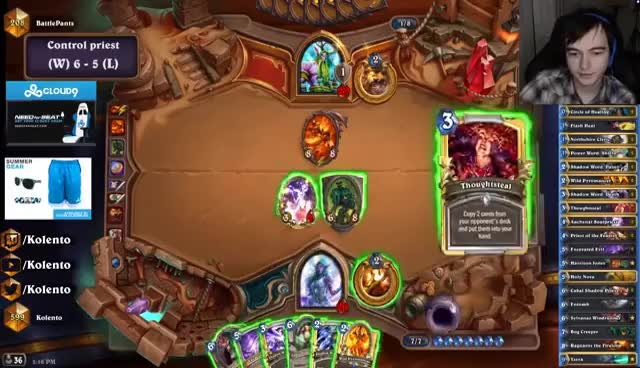 Hearthstone: Death by a thousand idols (control priest)