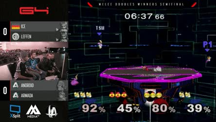 Watch and share Armada/Android Combo Two Foxes • R/smashgifs GIFs on Gfycat