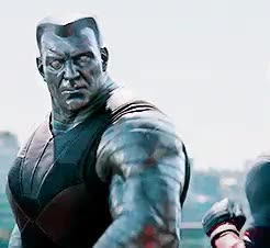 Watch and share Colossus GIFs and Deadpool GIFs on Gfycat