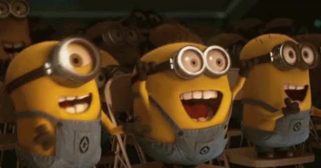 Watch cheering-minions.gif GIF by Streamlabs (@streamlabs-upload) on Gfycat. Discover more related GIFs on Gfycat