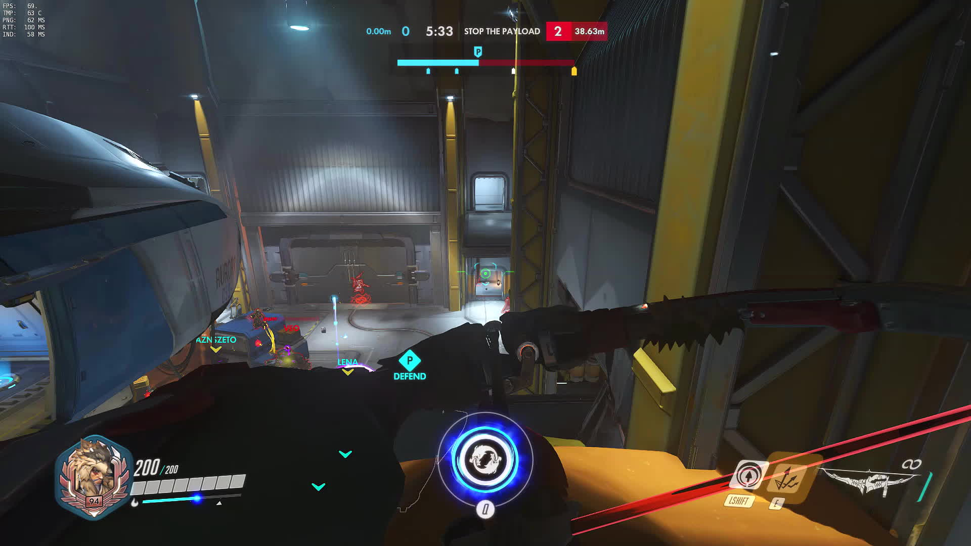Not Today Genji... Not Today. (Slow Motion) GIFs
