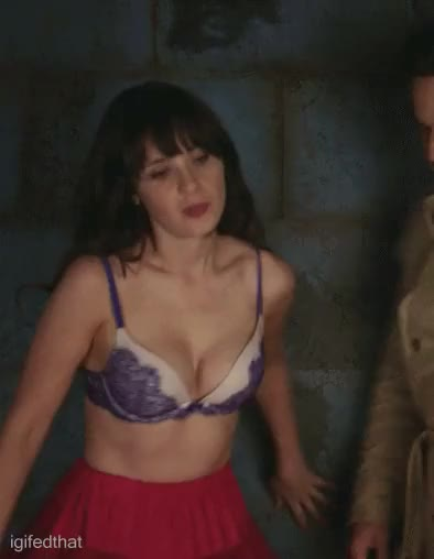 Watch and share Zooey Deschanel GIFs and Celebs GIFs by CelebJihad on Gfycat