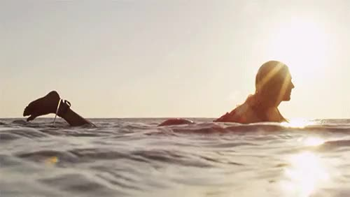 Watch Stephanie Gilmore. Quiet.via roxy GIF on Gfycat. Discover more 2014, Indo, Indonesia, Roxy, SURPHILE, Steph Gilmore, Stephanie Gilmore, gif, ocean, paddle, patience, ripples, still, sun flare, sunset, surf, surfer, surfing, waiting, water GIFs on Gfycat