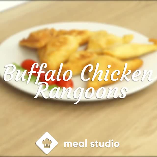 Watch and share Buffalo Chicken GIFs and Appetizer GIFs by Meal Studio on Gfycat