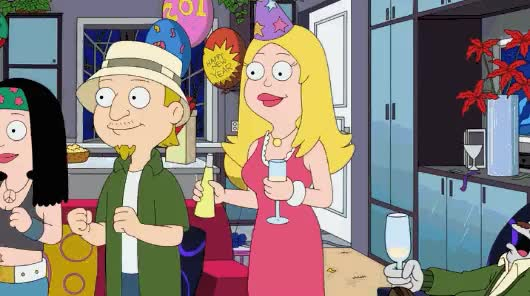 Watch and share Happy New Year, /r/americandad! Here's To An Even Bigger And Crazier 2015! : Americandad GIFs on Gfycat