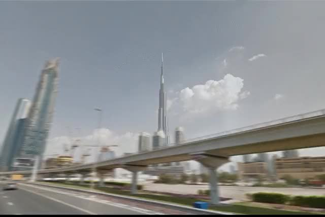 Watch and share Burj Khalifa Hyperlapse GIFs by andygfyer on Gfycat