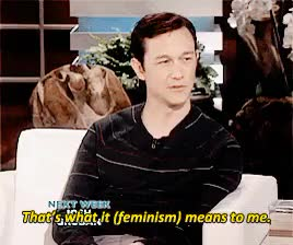 Watch this joseph gordon levitt GIF on Gfycat. Discover more *, ellen, feminism, gif, jgl, jglgif, joseph gordon levitt, talk show, the ellen degeneres show GIFs on Gfycat