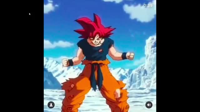 Watch and share Goku Dbz Transform GIFs and Broly Moive GIFs by poptartsarecursed on Gfycat