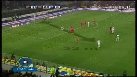 Watch and share Zlatan Ibrahimovic. Inter - Fiorentina. 2008-09 GIFs by fatalali on Gfycat