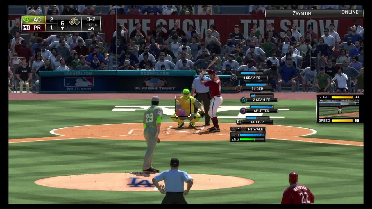 MLBTheShow, mlbtheshow, How to get out of a jam (reddit) GIFs