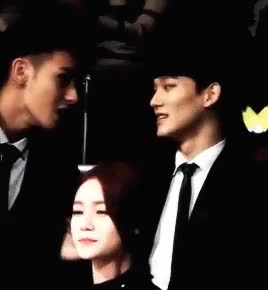 Watch and share Huang Zitao GIFs and Kim Jongdae GIFs on Gfycat