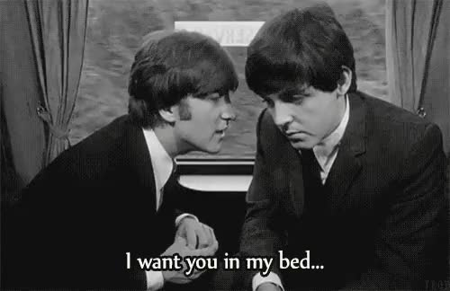 Watch and share A Hard Day's Night GIFs and Paul Mccartney GIFs on Gfycat
