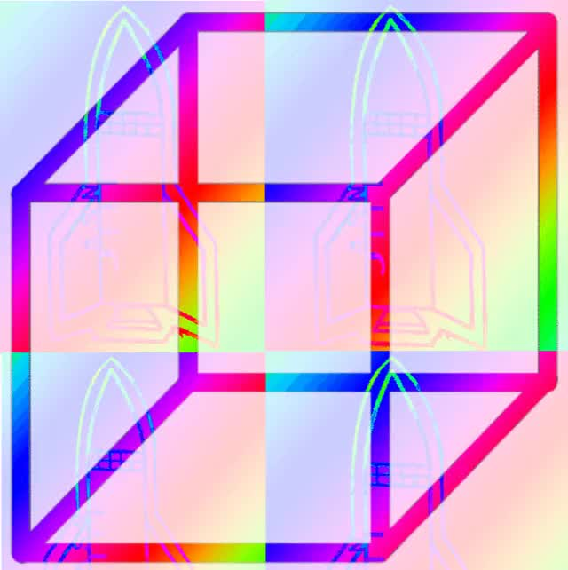 Watch and share Groovy Rainbow GIFs and Cube GIFs by Daniel Deeamex on Gfycat