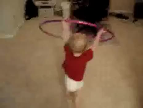 Watch and share Hula Hoop GIFs and Baby GIFs on Gfycat