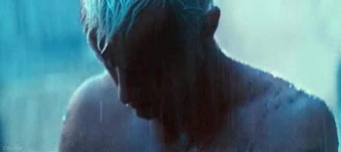 Watch this blade runner GIF on Gfycat. Discover more blade runner, rain, raining GIFs on Gfycat