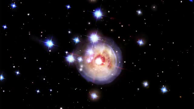 Watch and share V838 Monocerotis GIFs and Astronomy GIFs by Dave Mosher on Gfycat