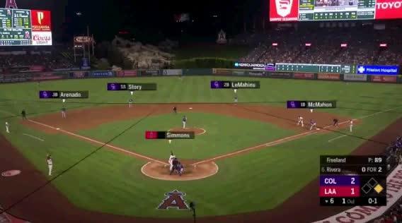 Watch and share Colorado Rockies GIFs and Baseball GIFs by jsulliv6 on Gfycat