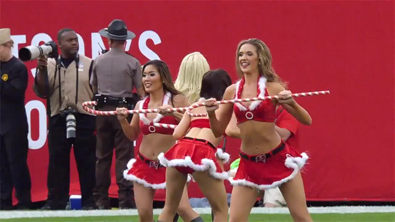 christmas, nfl, Tampa Bay Buccaneers cheerleaders GIFs