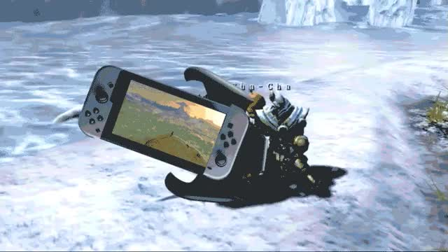 Watch and share Switch Nintendo Axe | Nintendo Switch GIFs on Gfycat