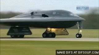 Watch and share Stealth B-2 Bomber Take Off GIFs on Gfycat