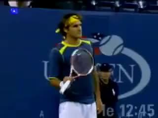 Watch Federer GIF on Gfycat. Discover more Federer Tennis Sport GIFs on Gfycat