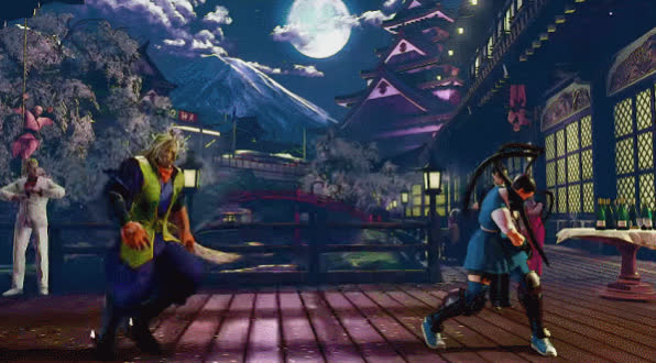 SFV, Street Fighter, Zeku - V-Trigger GIFs