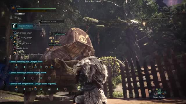 Watch and share Iceborne Great Sword GIFs by Ethu Inc on Gfycat