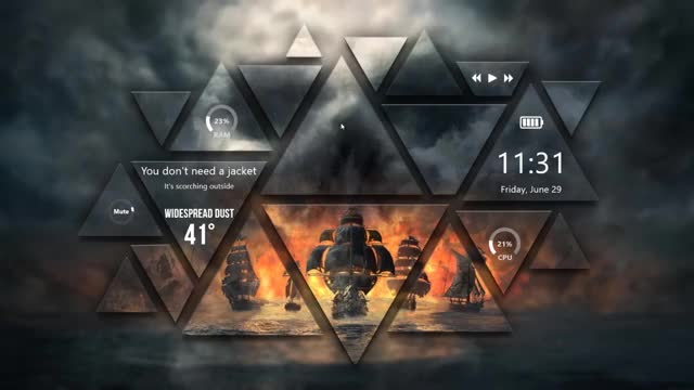 Watch and share Backgrounds GIFs and Rainmeter GIFs by DracoRex on Gfycat