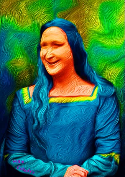 Watch and share Mona Lisa GIFs on Gfycat