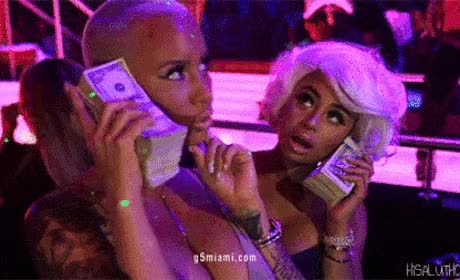 Watch Amber Rose and Blac Chyna GIF GIF on Gfycat. Discover more related GIFs on Gfycat