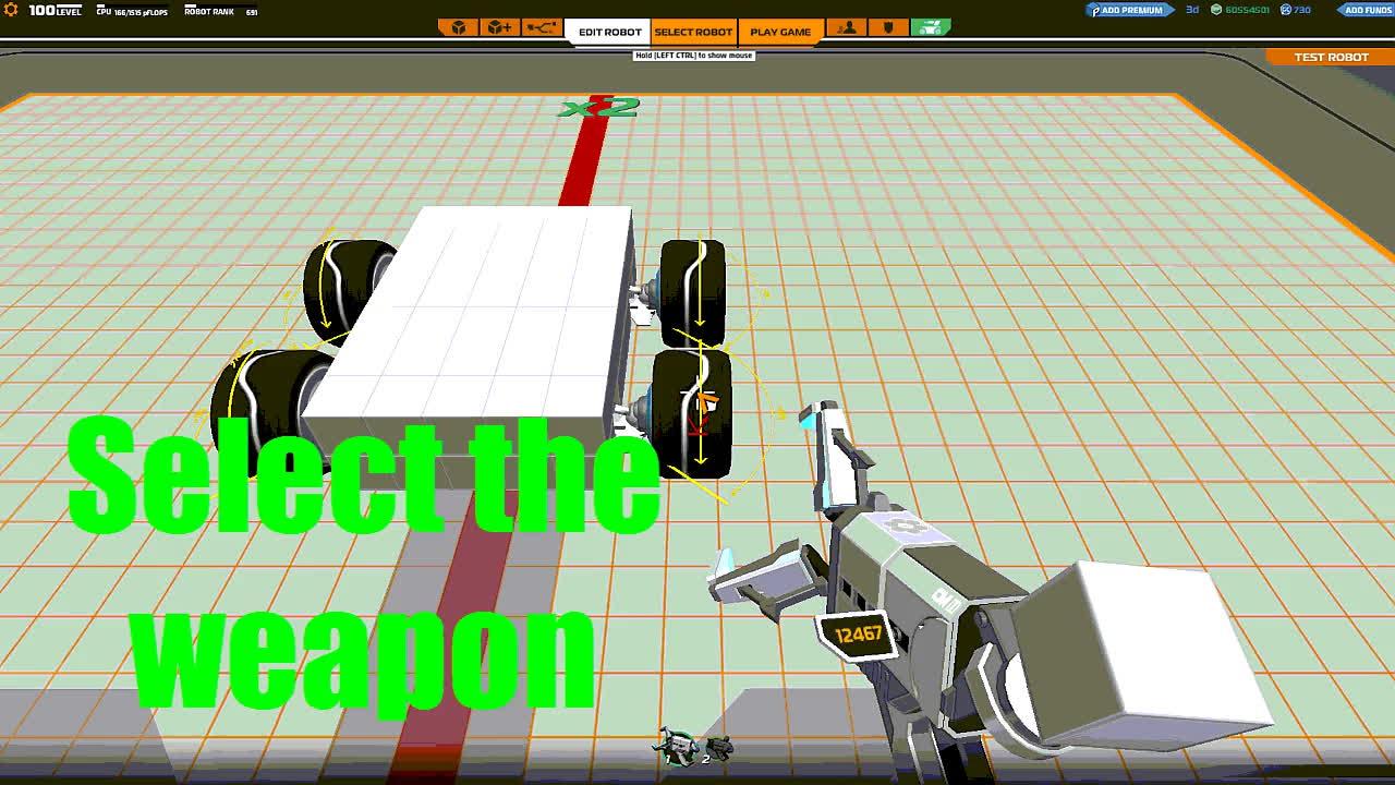 Robocraft placing bug GIFs