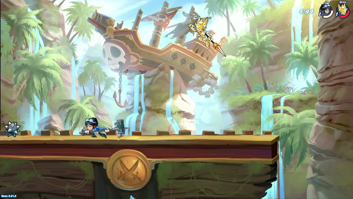 brawlhalla, When your edge-guarding reading is on point GIFs