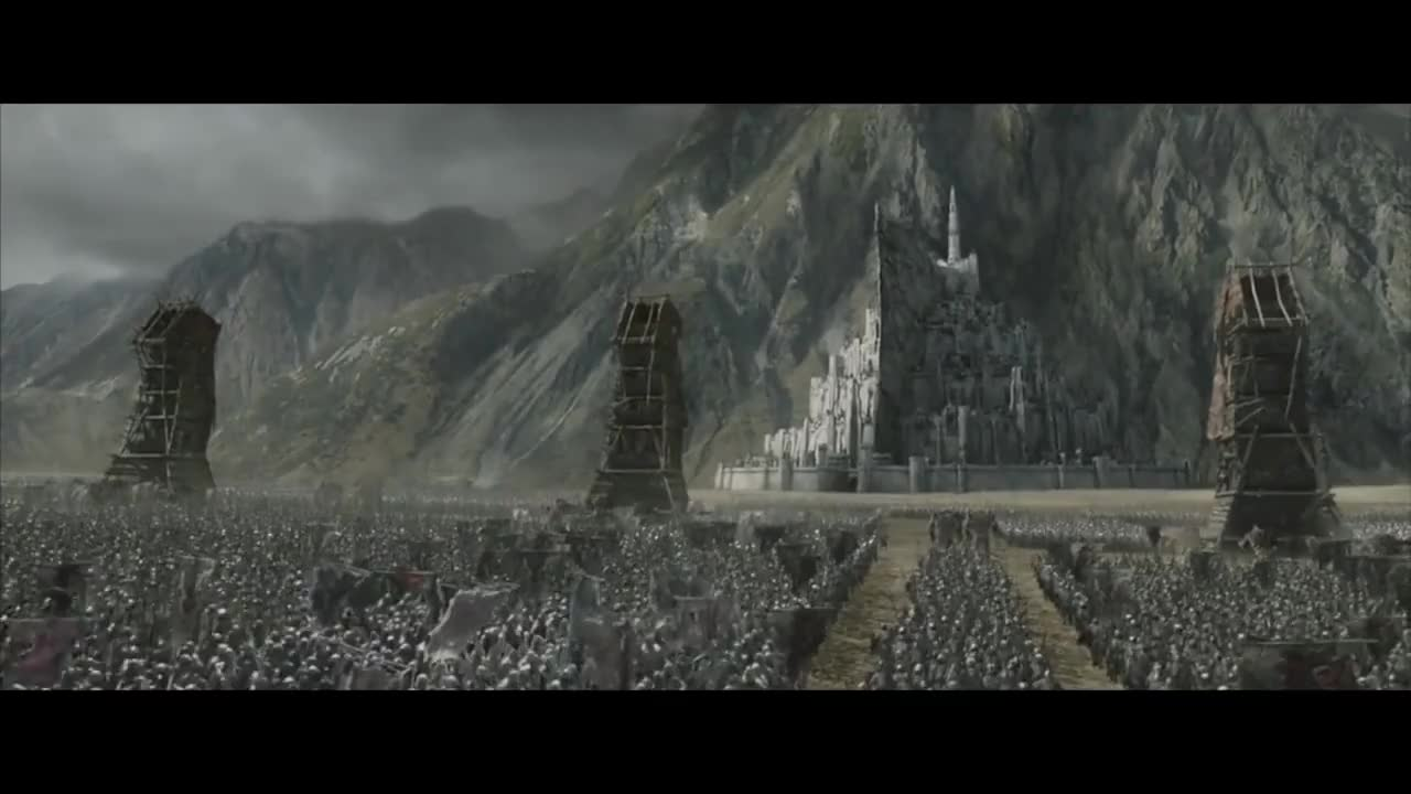Band, Battle, Fix, Marching, epic, red, scene, LOTR: Return Of The King [Orcs Marching] GIFs