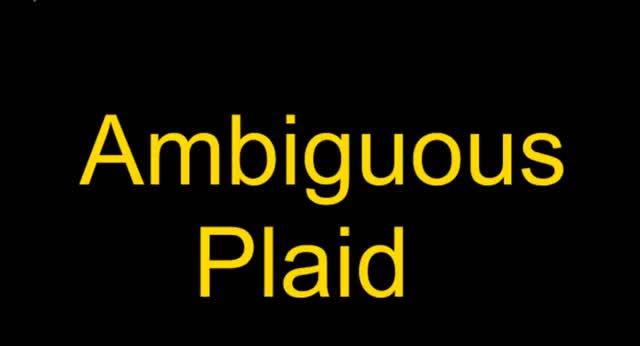 ambiguous and unambiguous plaid motion stimuli - Psychophysics