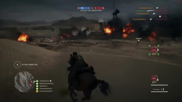 Watch and share Battlefield 1 GIFs and Gaming GIFs by drunkenrobot7 on Gfycat