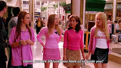 Watch this lucky GIF on Gfycat. Discover more lucky, mean girls GIFs on Gfycat