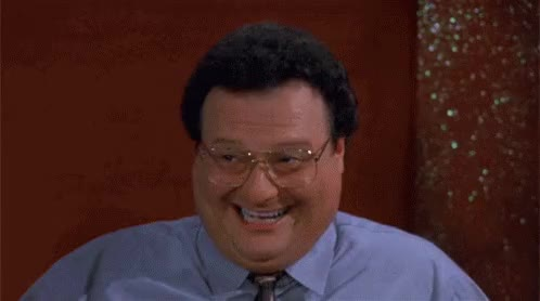 Watch seinfeld he GIF on Gfycat. Discover more wayne knight GIFs on Gfycat