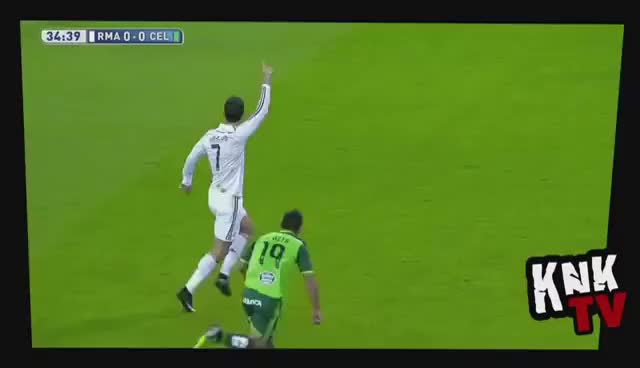 Watch and share Cristiano Ronaldo Piscinazo - CR7 Taking A Dive GIFs on Gfycat