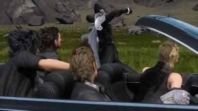 gaminggifs, Damn it Sephiroth! Go be majestic somewhere else (reddit) GIFs
