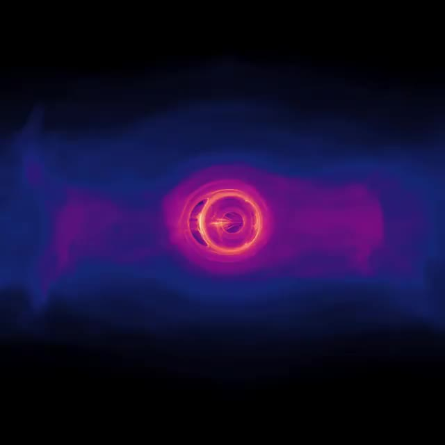 Watch Searching for those two-for-one #BlackFriday deals? We've got one of galactic proportions for you in honor of #BlackHoleFriday. Here's a loo GIF on Gfycat. Discover more BlackFriday, BlackHoleFriday., astronomy, astrophysics, blackfriday2018, blackhole, computermodeling, nasa, space, supermassive GIFs on Gfycat