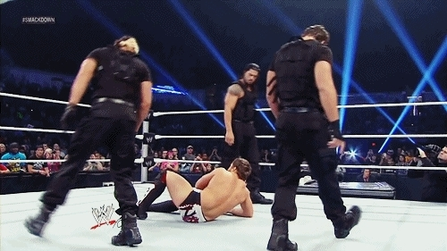 credit to owners for give use, dean ambrose, roman reigns, seth rollins, the shield, justiceserved GIFs