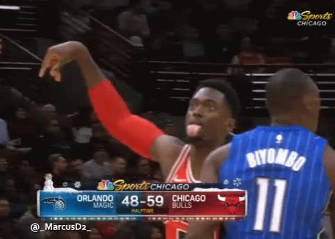 Watch and share Bobby Portis Reaction GIFs by MarcusD on Gfycat