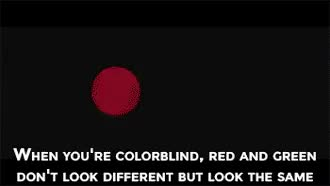 Watch Glasses that allow Colorblind people to see all colors GIF on Gfycat. Discover more related GIFs on Gfycat
