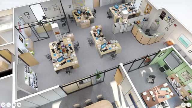 The office floor plan Game Company Boing Boing Explore This 3d Model Of Dunder Mifflin From The Office Boing Boing